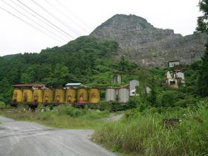 村☆戸叶石灰鉱山