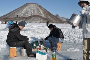 榛名湖ワカサギ釣り改め天ぷら大会