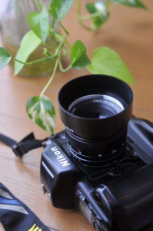 Nikon F90Xs + Carl Zeiss Planar T* 50mm F1.4 ZF2