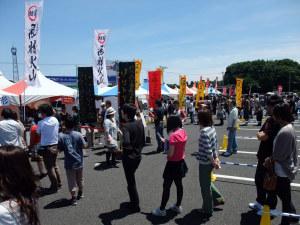 ラーメンフェスタ in 栃木 2010 インターパーク
