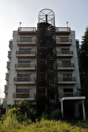 6階建てのホテル