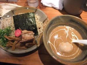 花の杜 味噌トロつけ麺