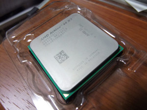 Athlon 64 X2 5000+ 旅立つ