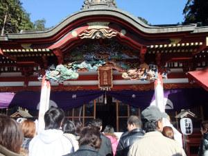 初栃木の年越しは真岡の大前神社で