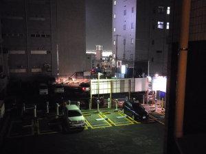 ホテルからの夜景?