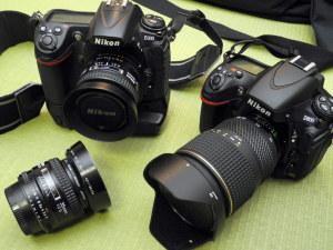 Nikon D300とD800