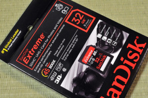 Sandisk Extreme SDHC UHS-I Card for Photos and Video
