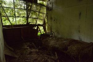 藁のベッド