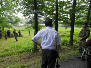 自衛官候補生訓練