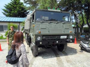 73式大型トラックの教習車