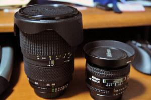 さらばTokina AT-X 270 PRO & AF Nikkor 24mm f/2.8D