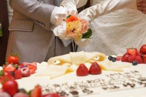 ケーキ入刀~