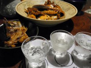 日本酒と魚は最高ですね