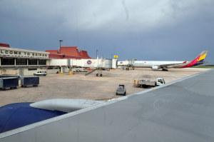 サイパン空港小さいな