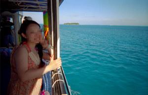 マニャガハ島に行った