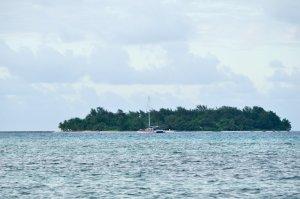 マニャガハ島を望む