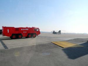 福島原発事故で活躍した消防車