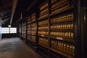 古酒貯蔵中