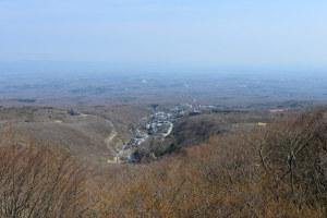 茶臼岳から望む那須