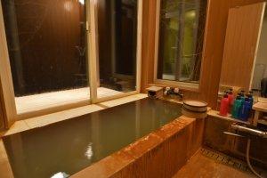 客室に露天風呂付き