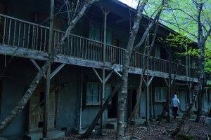 ニッチツ鉱山のアパート
