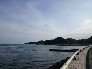 勝浦の海はよい景色ですね
