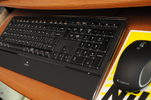 Logicool Illuminated Keyboard k740 & M560