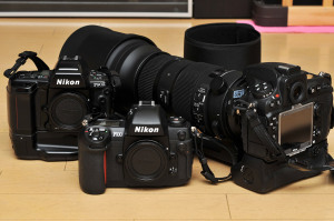 Nikon F90XとF100