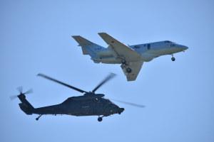 百里救難隊のU-125AとUH-60J