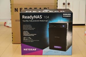 NETGEAR ReadyNAS104 RN10400