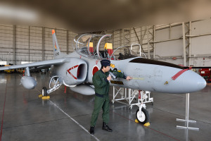 T-4練習機の見学2