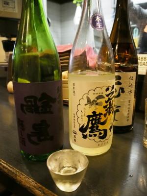 行きつけになりつつある日本酒と串焼きのお店