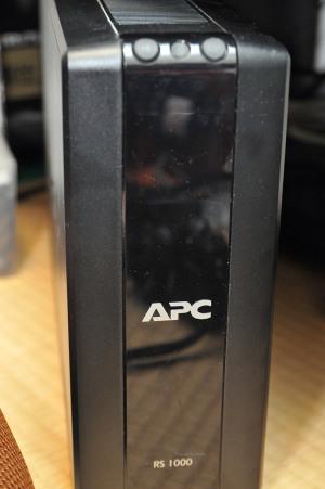 APC RS 1000電源入らなくなった