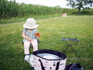 長女とピクニック