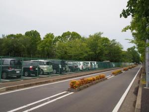 朝霞の森駐車場