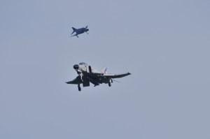 F-4EJ改アプローチ中