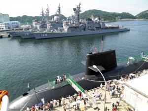 2006年の海上自衛隊横須賀基地
