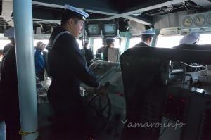 護衛艦「きりしま」の艦橋