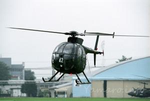 2007年の北宇都宮駐屯地記念行事から OH-6D