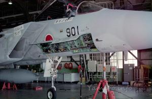 MSIP機体の展示