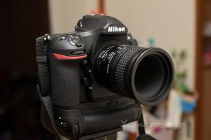 AF Micro-Nikkor 60mm f/2.8Dを装着したD850