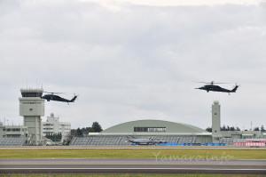UH-60J着陸訓練