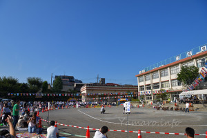 晴天の運動会