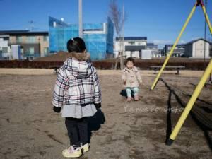 子供と公園へ