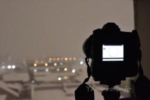 D850のタイムラプスで雪景色を撮る