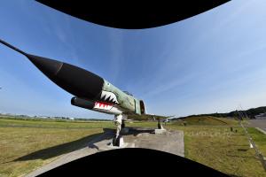AI AF Fisheye-Nikkor 16mm f/2.8D フィッシュアイ補正 画像以外の部分を含めて処理