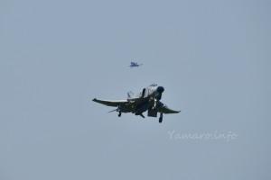 302SQのファントム着陸進入