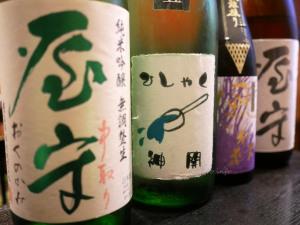 【藤本酒造】神開 純米吟醸玉栄 ひしゃく酒