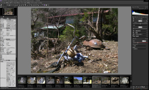 COOLPIX5400のRAWファイルとSILKYPIX Developer Studio 6で開く