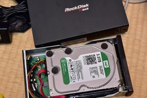 RockDisk Nextを分解